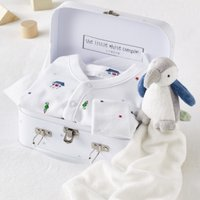 Pirate Baby Gift Set, White, 0-3mths