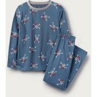 Pirate Print Pyjamas (1-12yrs), Blue, 11-12yrs