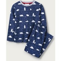 Polar Bear Pyjamas (1-12yrs), Blue, 9-10yrs