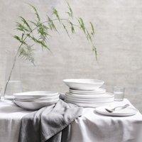 Portobello 12 Piece Dinner Set , White, One Size