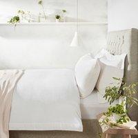Portobello Duvet Cover, White, Single