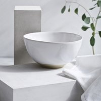 Portobello Serving Bowl , White, One Size