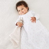 Posey Floral Sleeping Bag 1.0 Tog, White, 18-36mths