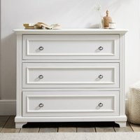 Provence Chest of Drawers, White, One Size