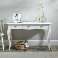 Provence Console Table , White, One Size