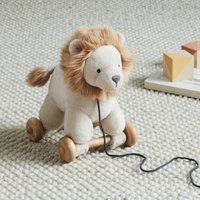 Pull-Along Loki Lion Toy, Natural, One Size