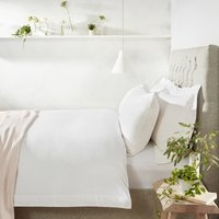 Portobello Duvet Cover, White, Single
