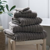 Hydrocotton Towel, Slate, Super Jumbo