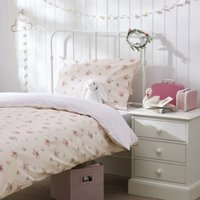 Rosie Bed Linen Set, Pink, Single