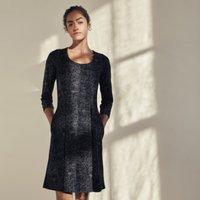 Rain Print Dress