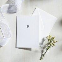 Sparkle Heart Card
