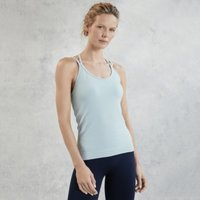 Recycled Seam-Free Studio Vest Top , Ice Blue, Small