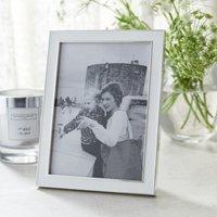 """Resin Photo Frame 5x7"""", White, One Size"""