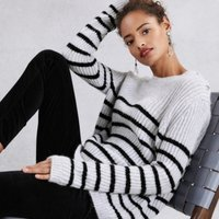Rib Breton Jumper with Alpaca, Pale Grey Marl, 10