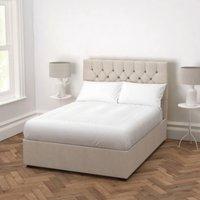 Richmond Linen Union Bed - Headboard Height 154cm, Natural Linen Union, Super King