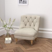 Richmond Tub Chair, Natural Linen Union, One Size