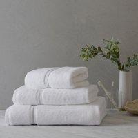 Savoy Towel, White Silver, Bath Sheet