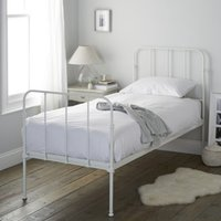 Stamford Single Bed, White, Single