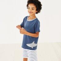 Shark Applique Pyjamas (1-12yrs)
