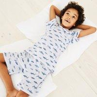 Shark Print Pyjamas (1-12yrs)