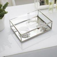 image-Glass Large Jewellery Box