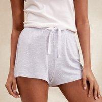 Spot Print Pyjama Shorts