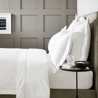 Symons Cord Duvet Cover, White Silver, Super King