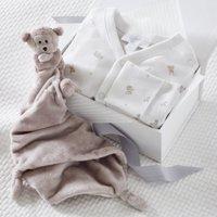 Safari Baby Gift Set, White, 0-3mths