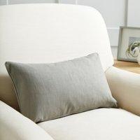 Scatter Cushion Cotton, Grey Cotton, Medium Square