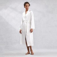 Silk Robe, Ivory, Small