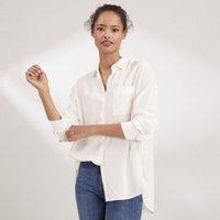Silk Shirt, Ivory, 10