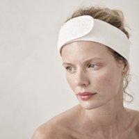 Spa Headband , White, One Size