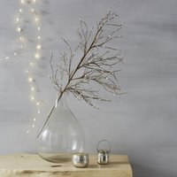 Sparkle Berry Branch Christmas Decoration, Natural, One Size