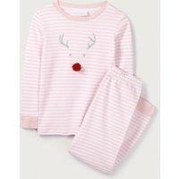 Sparkle Jingles Pyjamas (1-12yrs), Chalk Pink, 11-12yrs
