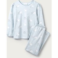 Sparkle Reindeer Pyjamas (1-12yrs), Blue, 2-3yrs