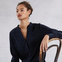 Sparkle Stripe Shirt , Navy, 12