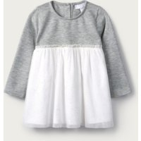 Sparkle Tutu Dress, Grey White, 18-24mths