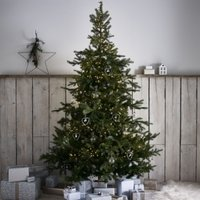 Spruce Christmas Tree - 7.5ft, Natural, One Size