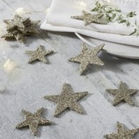 Star Table Scatters – Set of 20, Silver, One Size