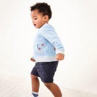 Summer Shorts, Blue, 12-18mths
