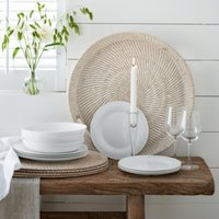 Symons Bone China - 12 Piece Set, White, One Size