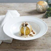 Symons Bone China Rimmed Bowl, White, One Size