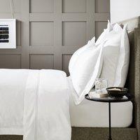 Symons Cord Duvet Cover, White Silver, Emperor