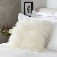 Tibetan Cushion, Ivory, 25x55cm