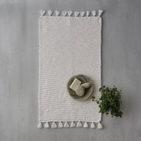 Toulouse Handmade Bath Mat, Natural, Medium