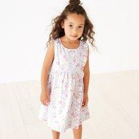 Tulip Print Dress (1-6yrs)