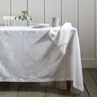 Seville Tablecloth, White, One Size