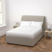 Thurloe Bed Wool, Light Grey Wool, Super King