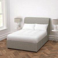 Thurloe Tweed Bed, Tweed Mid Grey, Double