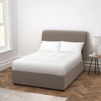 Thurloe Velvet Bed, Silver Grey Velvet, King